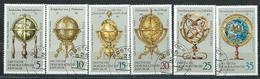 DDR  1972  MI 1792 - 1797  Erd- Und Himmelsgloben  Gestempelt