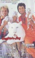 Télécarte Japon * SIEGFRIED&ROY * CINEMA * Animal * TIGRE * TIGER (827) FELIN * Japan  Phonecard Telefonkarte * TIJG - Film