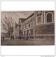GNDTP6471CPA-LFTD1174TABU.Tarjeta Postal DE GRANADA.Edificios,arboles,animales Y Personas..CUARTEL En GRANADA - Burros