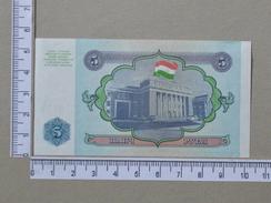 TAJIKISTAN 5 ROUBLE 1994       - (Nº17886) - Tadschikistan