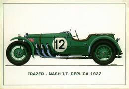 Auto Frazer - Nash T.T. Replica 1932  Brovarona Stampa 2003 - Automobilismo - F1