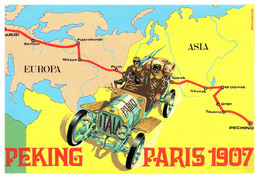 Auto Raid Pechino Parigi - 1907 Brovarona Stampa 2004 Asia Europa - Automobilismo - F1