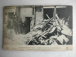MILITARIA - Les Zeppelins Sur Paris - Crimes Odieux Des Pirates Boches - 7 Personnes Furent Tuées Dans Cette Maison - Guerre 1914-18