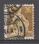 SUISSE 1908 Mi.nr: 110x  Sitzende Helvetia  Oblitérés - Used - Gebruikt