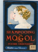(12) Sac De Champooing Du Mogol  12.5cm X 8.5cm  (bon Etat) - Produits De Beauté