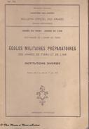 1972 - BULLETIN OFFICIEL DES ARMEES DE TERRE ET DE L AIR - ECOLES MILITAIRES PREPARATOIRES - Revues & Journaux