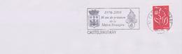 Armoiries Histoire : Flamme Castelnaudary (Aude) 1976-5009 30 Ans De Présence De La Légion Etrangère