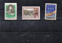 Russie 1955 - YT 1731 à 1733 **