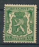 Belgien 1936 35 C. Ungebraucht Wappen Löwe