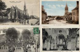 Lot De 15 Cartes Postales - Divers FRANCE - SELECTION - Plusieurs Scans - Francia
