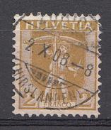 SUISSE 1907 Mi.nr: 95 Tellknabe  Oblitérés - Used - Gebruikt