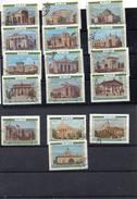 Russie 1955 -  Exposition Agricole De Moscou YT 1737 /52 Obl