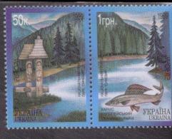 CEPT Natur - Und Nationalparks / Nature National Parks Ukraine 302 - 303 ** Postfrisch, MNH, Neuf - Europa-CEPT