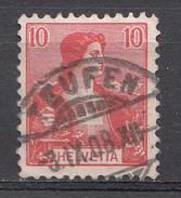 SUISSE 1907 Mi.nr: 98 Helvetia  Oblitérés - Used - Gebruikt