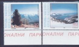 CEPT Natur - Und Nationalparks / Nature National Parks Makedonien 162 - 163  ** Postfrisch, MNH, Neuf - Europa-CEPT