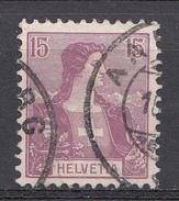 SUISSE 1907 Mi.nr: 100 Helvetia  Oblitérés - Used - Gebruikt