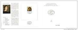 Germany 2012 Mi. 2965 FDC Folder DP, Sistine Madonna, Painting By Raphael Sanzio