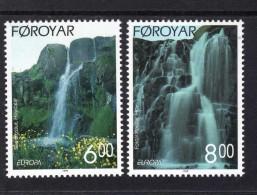 CEPT Natur - Und Nationalparks / Nature National Parks Färöer 354 - 355  ** Postfrisch, MNH, Neuf - Europa-CEPT