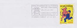Animaux Vaches Bovins : Fl Saint Leonard De Noblat (Hte Vienne) 19è Journées De La Viande Bovine Limousine Concours