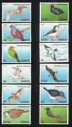 SAMOA  2013  BIRDS  SET  MNH