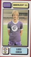 Panini Football Voetbal 83 1983 Sticker Autocollant Royal Sporting Club Anderlecht RSC RSCA Nr. 16 Ludo Coeck - Sports