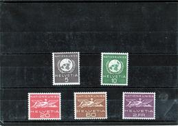 B - Svizzera 1955 - Nazioni Unite - Ginevra
