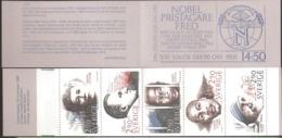 Sweden Sverige 1986 Peace Nobel Prize, Booklet With   MiNr. 1413-1418 In MH 118  MNH(**)