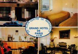 MARSEILLE    GRAND  HOTEL  DE  PARIS      2  SCAN    (NUOVA) - Marseilles