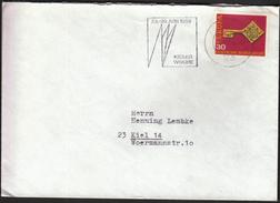 Germany Kiel 1968 / Sailing / Kieler Woche / Machine Stamp