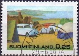 Finland 1968 Zomertoerisme GB-USED
