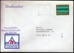 Germany Kiel 1976 / Sailing / Kieler Woche / Machine Stamp