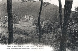 LANEUVILLE  - Le Chalet Joli Bois - Colonie De Vacances Protestante De L'eglise Réformée De Nancy - Andere Gemeenten