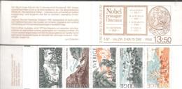 Sweden Sverige 1985 Nobel Peace Prize, Booklet With MiNr. 1364-1368 In MH 110  MNH(**)