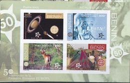 Benin 2005 Europa  Space Albert EINSTEIN Imperf