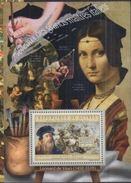 Guinée 2012 Peinture Paintings Leonard De Vinci