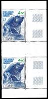 TAAF 1978 - Yv. PA 54 En Paire ** TB Bdf  Cote= 9,00 EUR - Faune. Otarie  ..Réf.TAF20558