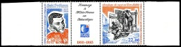 TAAF 1993 - Yv. 183A ** TB Bdf  Faciale= 3,74 EUR - Tryptique Météo France  ..Réf.TAF20579
