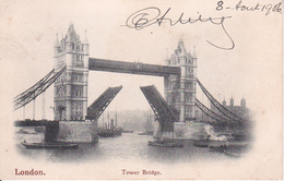 PC London -Tower Bridge - 1906 (27504)