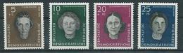 DDR  1949 Mi 715-716 Und 718 - 719  Postfrisch