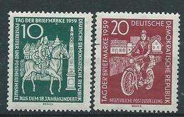 DDR  1949 Mi 735 - 736  Tag Der Briefmarke  Postfrisch