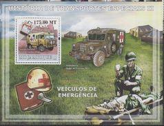 Mozambique  Nobel Red Cross Croix Rouge  Souvenir Sheet