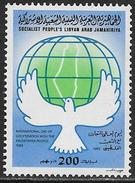 La Libye Neufs Sans Charniére, MINT NEVER HINGED, SOLIDARITY WITH PALESTINIAN PEOPLE