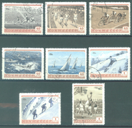 URSS - 1954 - USED/OBLIT. - SPORT - Mi 1710-1717 Yv 1693-1700 - Lot 15227