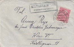 Autriche Lettre Censurée Krakau 1914