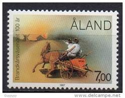 Aland - 1987 - Yvert N° 23 **  - Pompiers