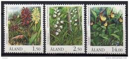 Aland - 1989 - Yvert N° 33 à 35 **