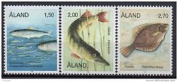 Aland - 1990 - Yvert N° 38 à 40 **