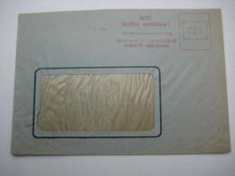Firmen Freistempel , Meterstempel Auf Beleg Aus   Halle  1946