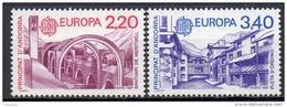 Andorre Français - Europa - 1987 - Yvert N° 358 & 359 **