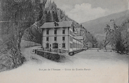 GORGES DE L'AREUSE → Usine De Combe-Garot Anno 1910 - NE Neuenburg